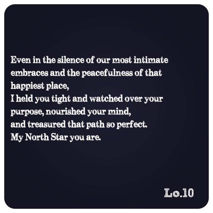 My North Star You Are.