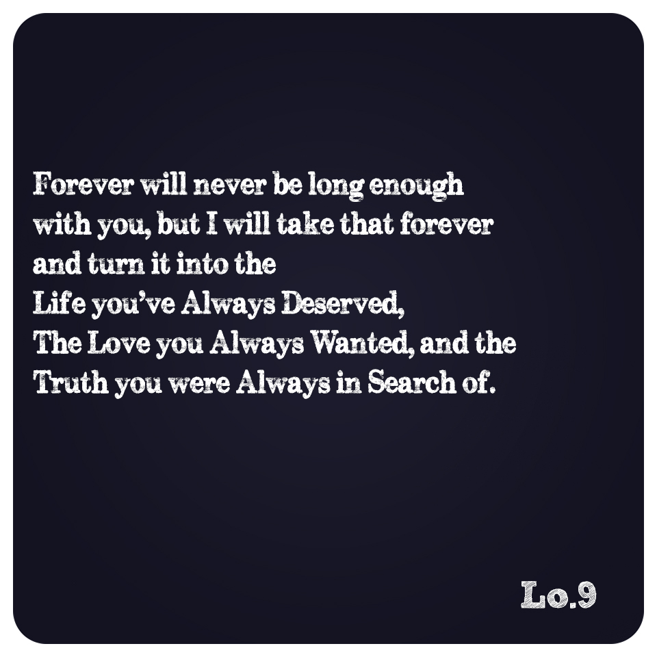 Depth Of Forever.
