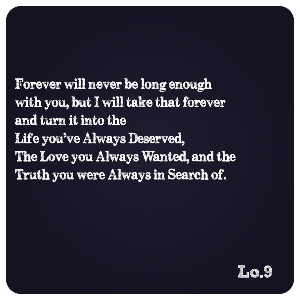 Depth Of Forever.